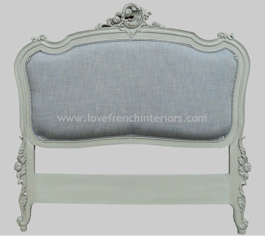 upholstered french headboard kingsize, Headboard designs